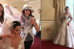 Milionová nevěsta nejutajovanější svatby léta: Šaty od Matragi jsou poklad, půjdou do truhly