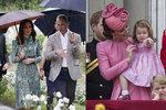 Nepatrný pohyb levé ruky krásné Kate a královské tajemství bylo venku! To nemohla uhlídat