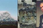 Unikátní fotografie z útoků 11. září 2001: Šokovaný Bush i vnitřek zničeného Pentagonu