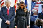 V USA vzpomínají na teror z 11. září, Trump držel minutu ticha před Bílým domem
