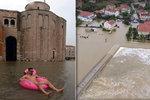 Turistický ráj v Chorvatsku pod vodou: Zadar postihl nejhorší déšť za 30 let