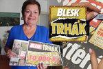 10 000 korun v Denní hře Blesku má Dagmar Plessnerová (66) ze Starého Města: Druhá výhra s Bleskem! Celkem získala 35 tisíc
