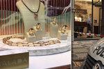Krádež v luxusním klenotnictví v Pařížské: Zloději si odnesli šperky za více než dva miliony korun