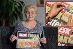 Věrka Josieková z Karviné (65) přemluvila manžela k odeslání SMS a...10 tisíc už je doma!
