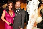 Stále zamilovaní Čadek s Čvančarovou: Oslavili šest let od svatby