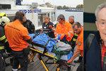 Třísku z vody zachránila posádka lodi: Udělali jsme maximum, tvrdí majitel firmy