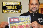 Petr Mokrý (35) z Karlových Varů má 10 tisíc: Za výhru zásnubní prstýnek!
