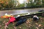 Vážná nehoda u nádraží v Ruzyni: Seniora srazil motorkář, zemřel v nemocnici