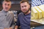 Ekonom od Babiše zpražil Čechy: Máslo je levnější než v 90. letech