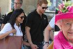 Princ Harry s přítelkyní Meghan: Setkání s královnou Alžbětou II. u čaje!