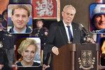 Vyznamenání přehledně: Koho ocenil prezident? Vybral umělce, lékaře i hrdiny