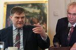 Jindrák o cestě do Ruska: Zeman bude chtít od Putina pravdu o roce 1968