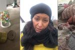 Brajgl u Prachařové v obýváku: Dvouměsíční Mia po sobě zanechala růžovou spoušť