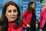 Opravdu je těhotná? Vévodkyně Kate ukázala hubenou postavu a žádné bříško