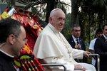 Papež varoval věřící před pomluvami. Dávejte si pozor na jazyk, zdůraznil