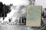 Z člověka zbyde 640 gramů popela! Historici rozluštili dopis vězně z Osvětimi: Tábor smrti přežil díky touze po pomstě
