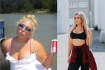 Vsadila se a zhubla skoro o čtyřicet kilogramů! Nepoznáte, že jde o stejnou ženu