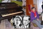 Sestry z Chrástu u Poříčan nevědí, co s dědictvím: Piano po Čapkovi nikdo nechce