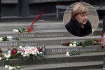 Zavražděná Češka Naďa má v Berlíně pomník: Merkelová odhalila památník obětem teroru