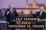 Topolánek v duelu s Fischerem: Ptejte se obou kandidátů v přímém přenosu