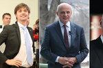 Poražení kandidáti: Fischer zvažuje, co dál. Hilšer už byl učit, Horáček se vrátí k hudbě