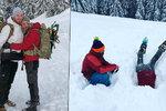 Manžel Pizingerové pod lavinou: Zachraňovala ho sama Vendula!