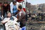 """""""Je to masakr."""" V sanitce vybuchla bomba, nejméně 95 mrtvých a 158 zraněných"""