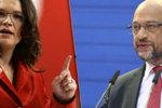 Sociální demokraté v Německu mění vedení. Schulz končí, nahradí ho žena