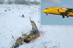 Pád letadla se 71 mrtvými: Posádka nestihla vyslat nouzový signál, co se stalo?