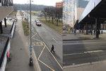 Hazard se životem! U obchodního centra v Bohnicích skáčou lidé do silnice. Už od 70. let