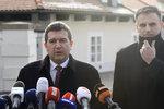 Hamáček je pro vládu ČSSD s ANO, řekl Zemanovi. Jenže Babiš straně dál vadí