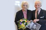 Jarmila (93) s Františkem (97) mají nebeskou svatbu: Oslavili společných 75 let života