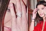 Vdaná Koblížková: Poprvé od svatby ukázala snubní prsten