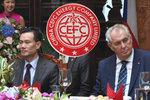 Půlka žaludku a peníze. Zeman řekl, proč si vzal za poradce zatčeného exšéfa CEFC