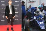 """Neuvěřitelné: Mladík přišel ve formuli o obě nohy, po roce už zase stojí """"na bedně"""""""