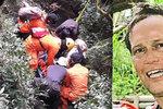 Horolezec Andrej se ztratil na jávské sopce: Tělo našli v řece