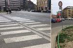 """Nebezpečný přechod v Nuslích je """"dlouhý jak týden"""": Vznikne místo něj chodník"""