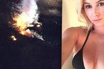Krásná modelka (†23) zahynula při pádu letadla: Před smrtí sdílela šokující video