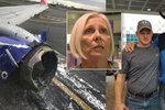 Matka vcucnutá oknem letadla: Náraz ji ubil! Kovboj, sestra a hasič se ji snažili zachránit