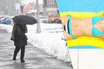 Před rokem zasypaly Česko hromady sněhu, teď duben přinese třicítky. Počasí zešílelo?