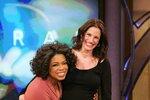 Oprah v objetí s Julií Roberts