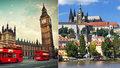 Bydlet v Praze a létat denně do Londýna je prý levnější než bydlet přímo v Londýně.