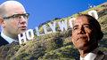 Sobotka jede dobýt Hollywood, zastaví se i na večeři pořádané Obamou