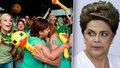 Brazilští poslanci odhlasovali sesazení prezidentky. Lidé v ulicích bujaře slaví