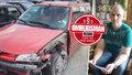 Autonehodu nezavinil: Pojišťovna zaplatila almužnu  a skončil bez auta