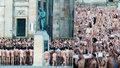 Naháči, kam se podíváš! Šest tisíc lidí odhodilo svršky pro mír