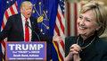 Clintonová půjde do střetu s Trumpem. Bude první prezidentkou USA?