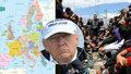 Trump vzkázal Evropě: Zastavte migranty, nebo to tu za deset let nepoznáte