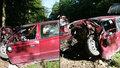 Z felicie moc nezbylo: Řidič nehodu u Žďáru nepřežil