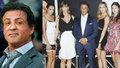 Sylvester Stallone a jeho rodina